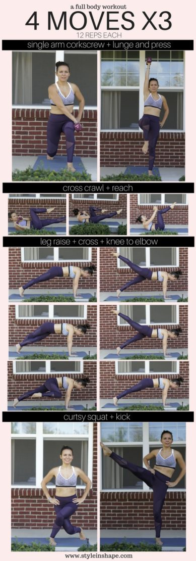 Full Body Workout in 4 Moves
