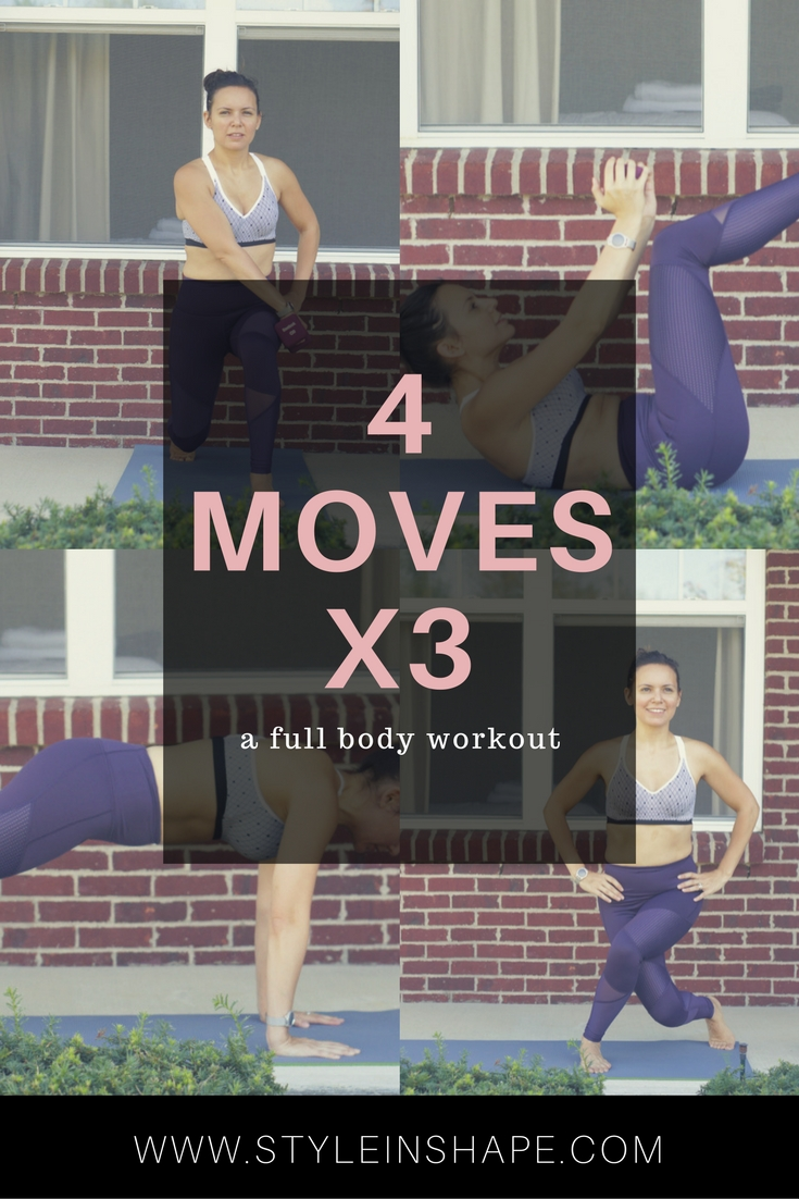 4 Moves to Transform Your Body
