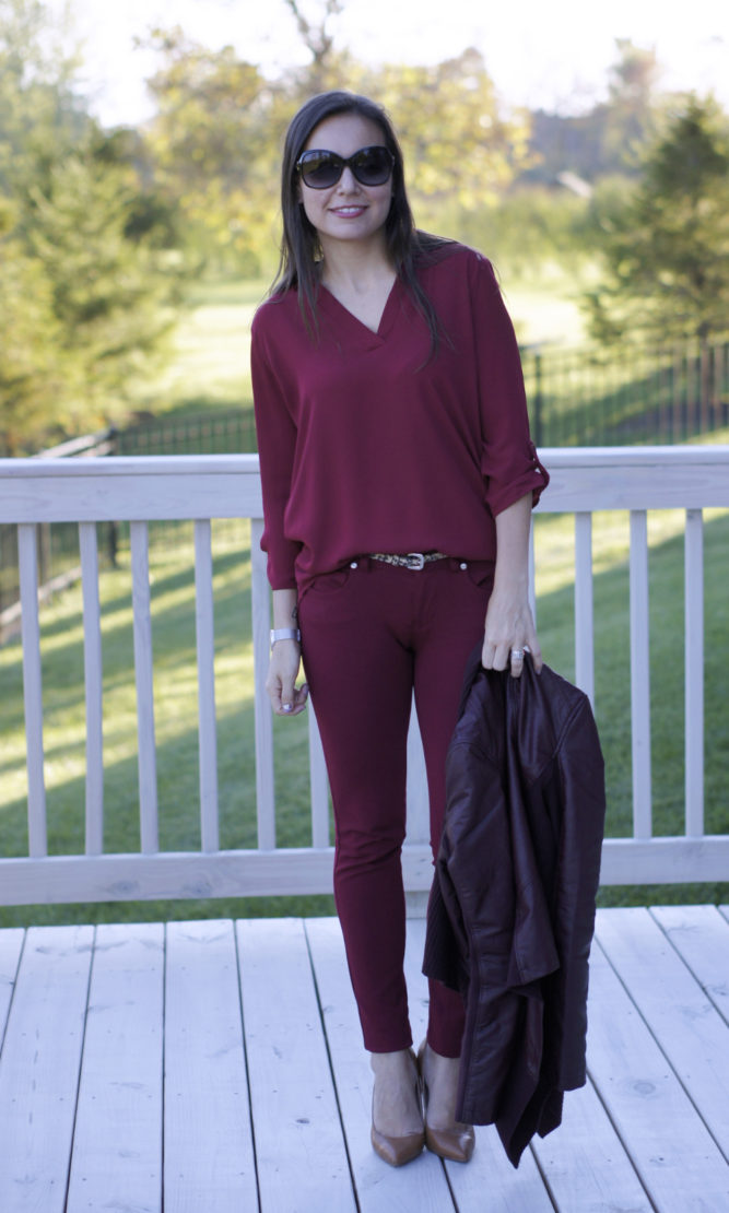 Hues of Red for Fall | Style In Shape