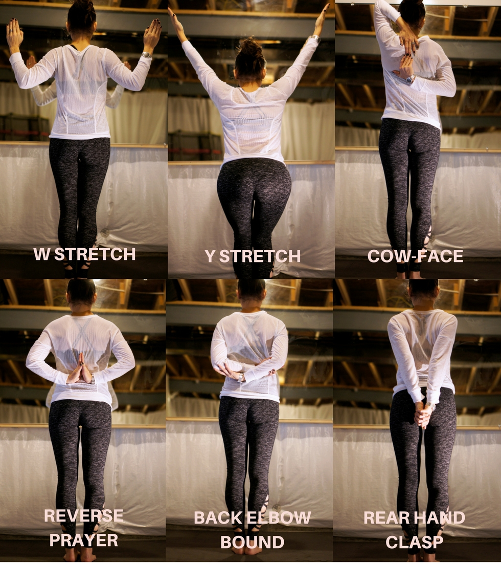 6 Shoulder Stretches | Style in Shape
