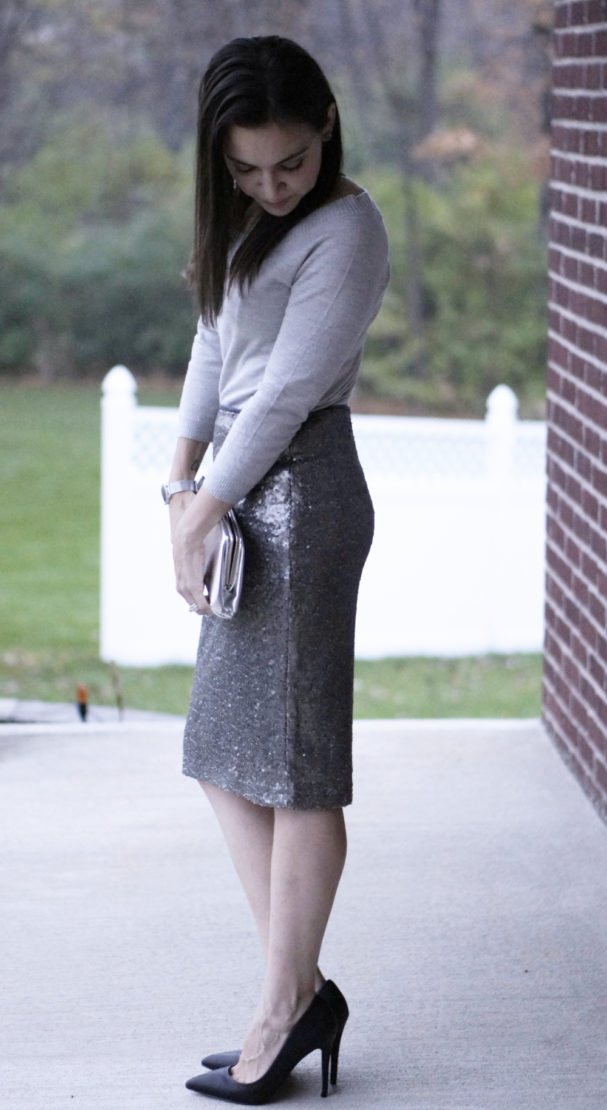 Dressy Sequined Skirt | Style In Shape
