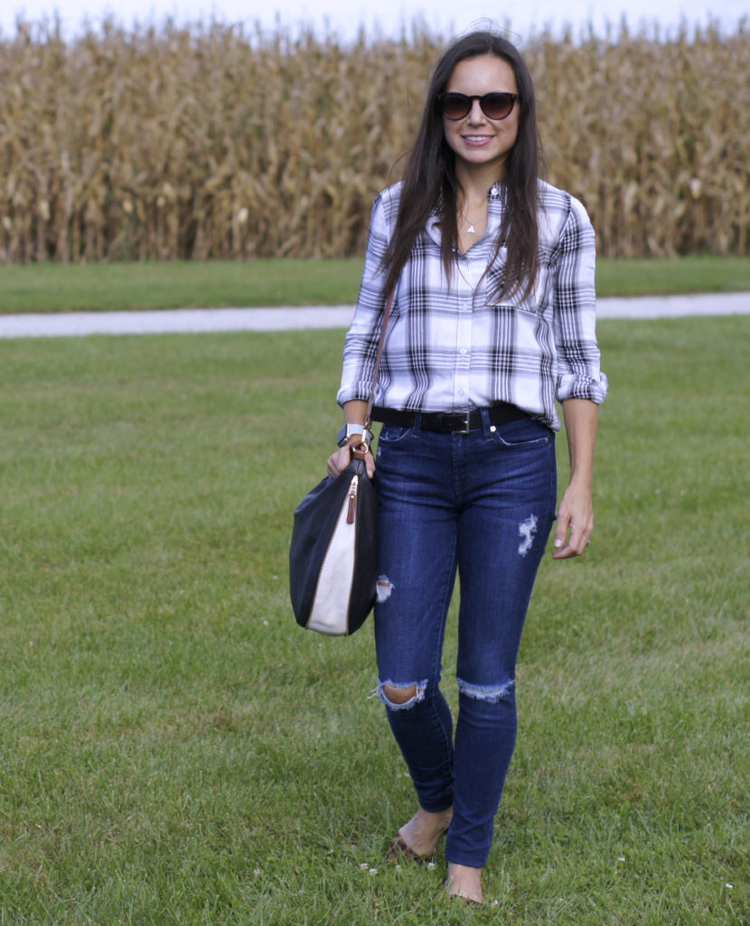 Style in Shape: Plaid and Leo for Fall