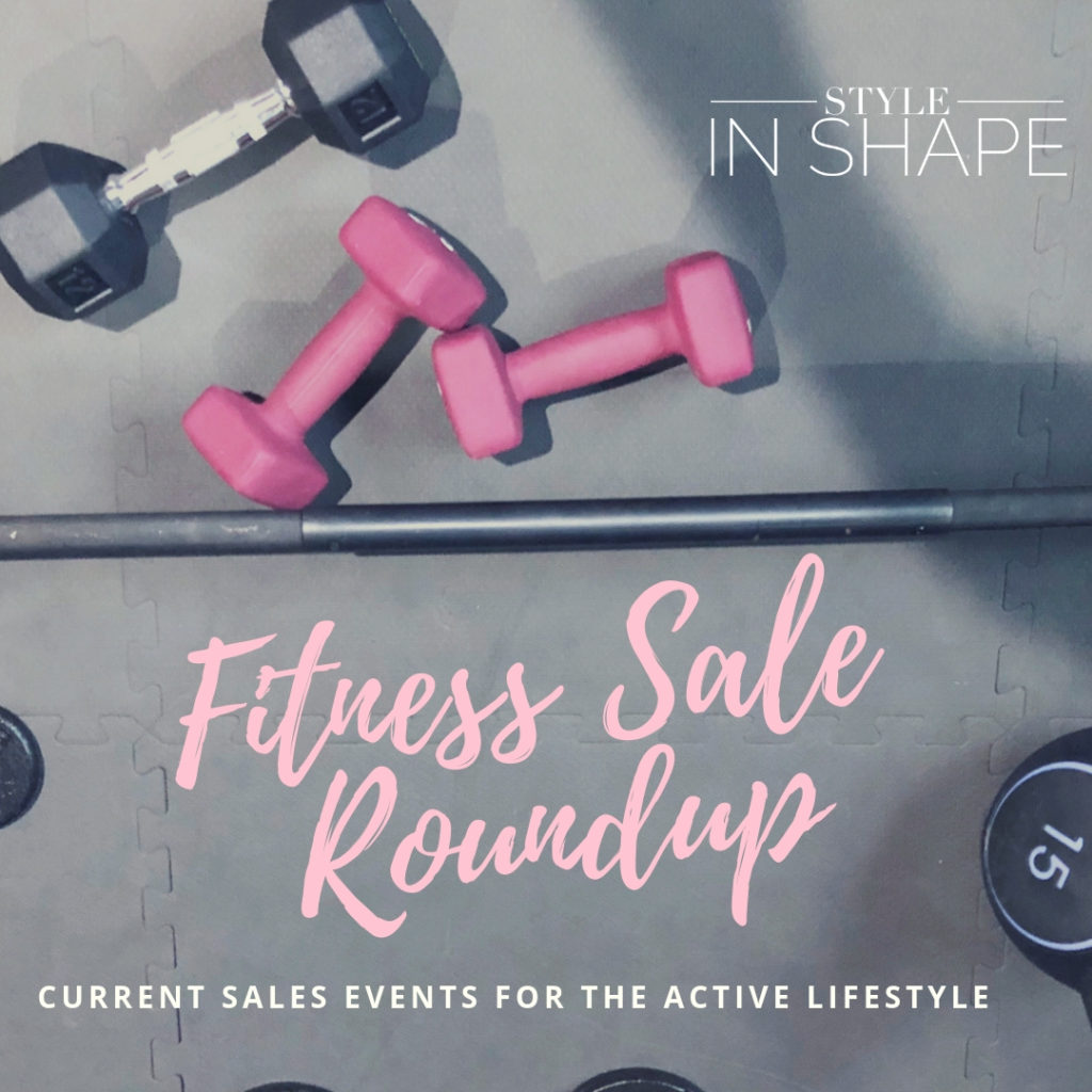 Fitness Sales for Your Resolutions