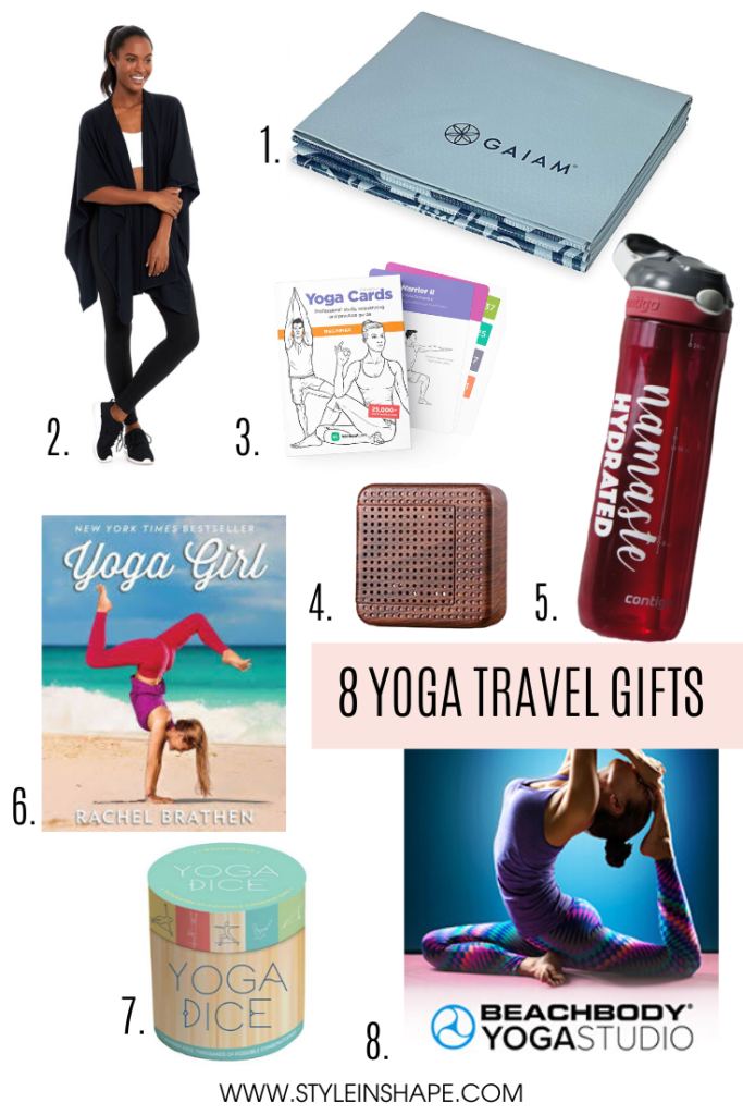 8 Yoga Travel Gifts | Style In Shape